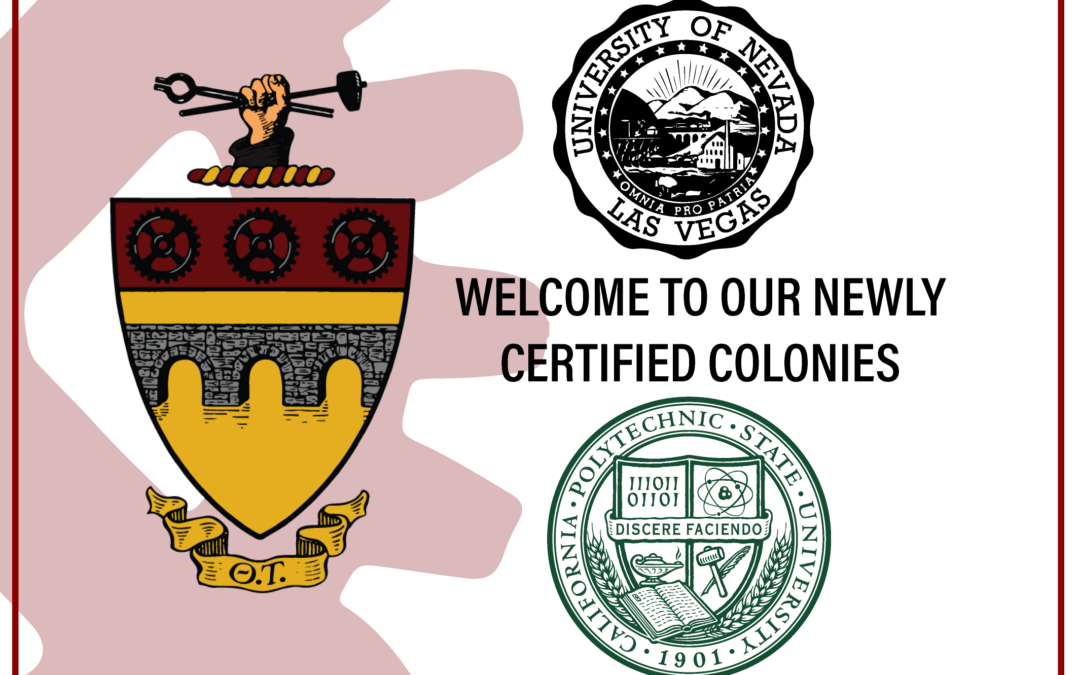 Theta Tau Welcomes Two New Colonies!